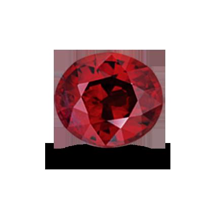 Garnet rhodolite 2.47ct