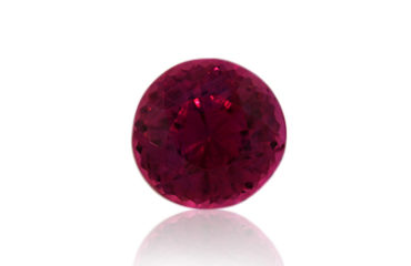 Sri Lankan Ruby 1.09ct, Round. Fine quality.