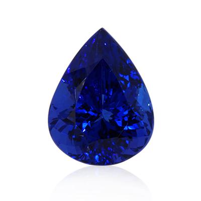 A Rare Rich Violet Blue Tanzanite